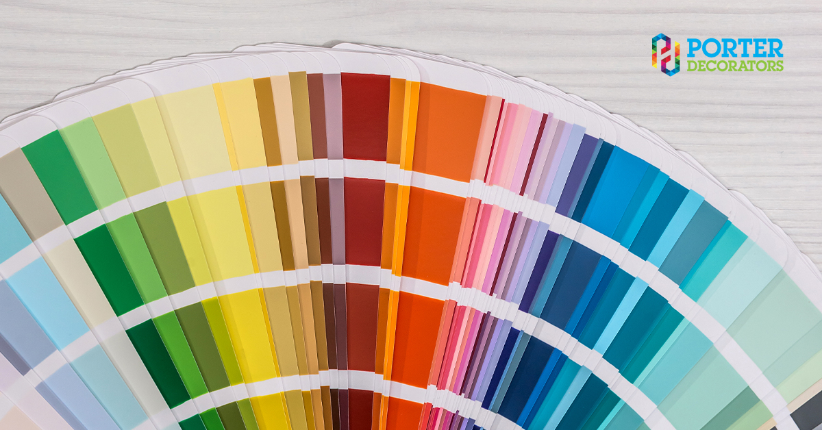 Office painting - colours that boost productivity. 2