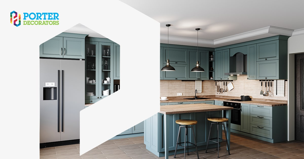 Benefits of a Hand Painted Kitchen 1